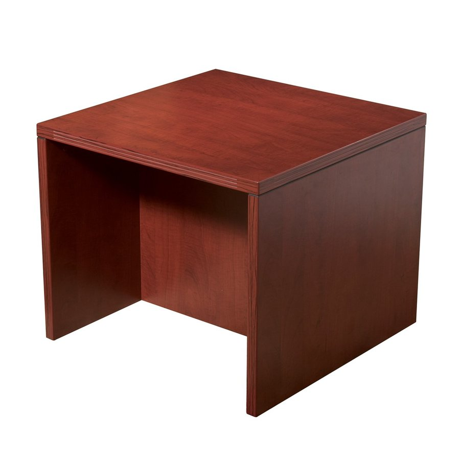 Shop Office Star Osp Furniture Napa Cherry End Table At
