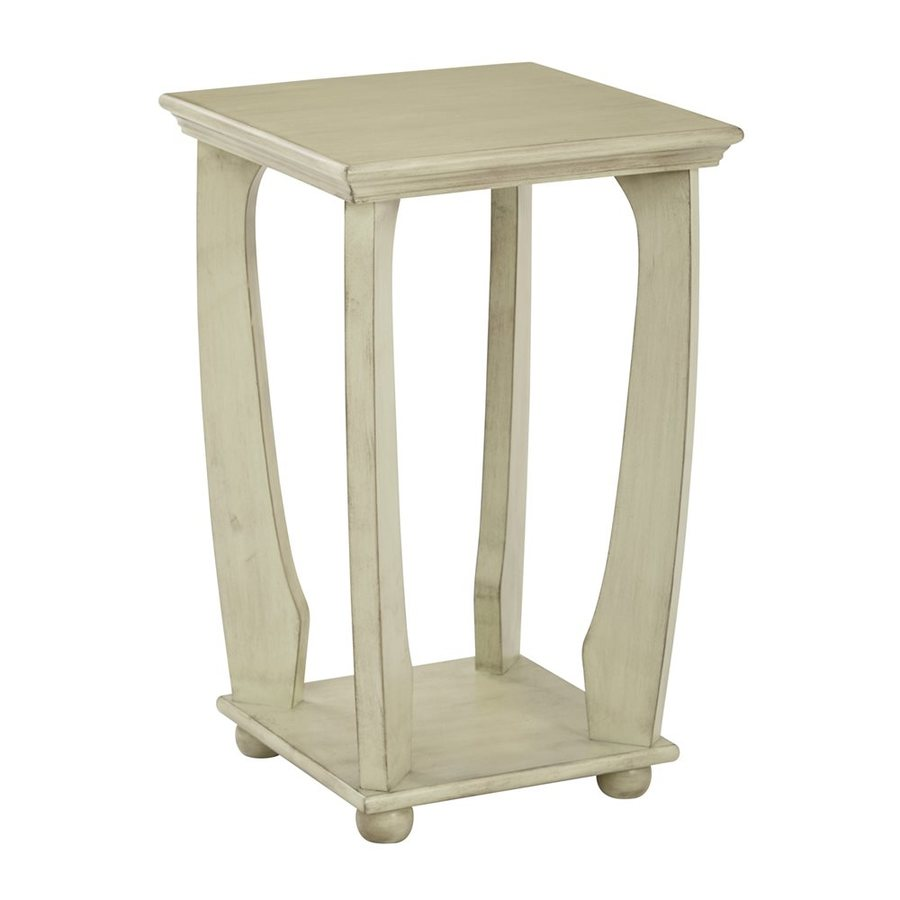 Office Star OSP Designs Antique Celadon End Table