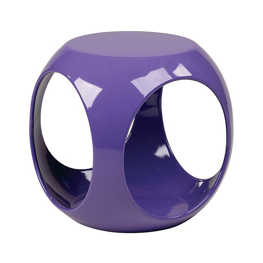 Office Star Ave Six Purple End Table