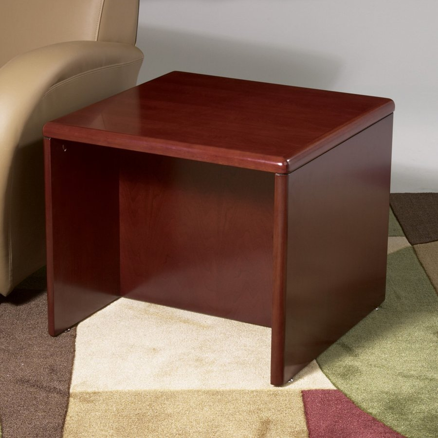 Office Star Osp Furniture Sonoma Dark Cherry Wood Casual End Table