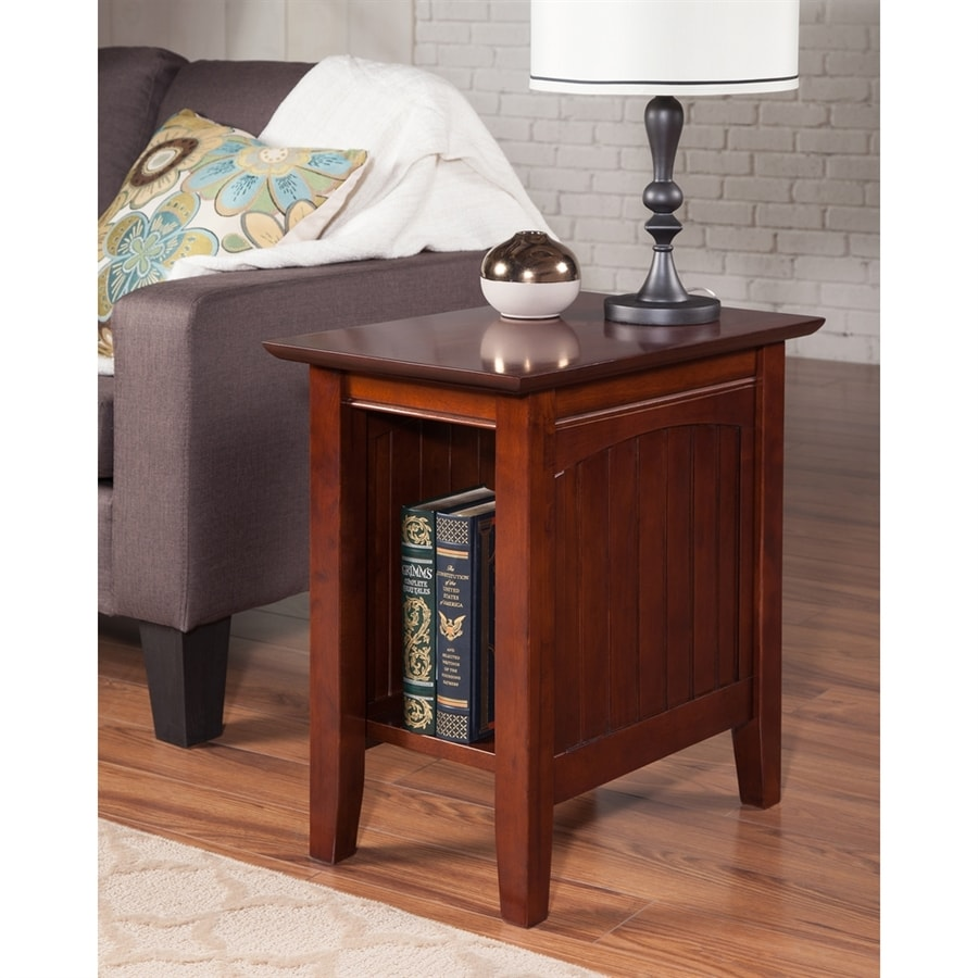 Atlantic Furniture Nantucket Walnut End Table