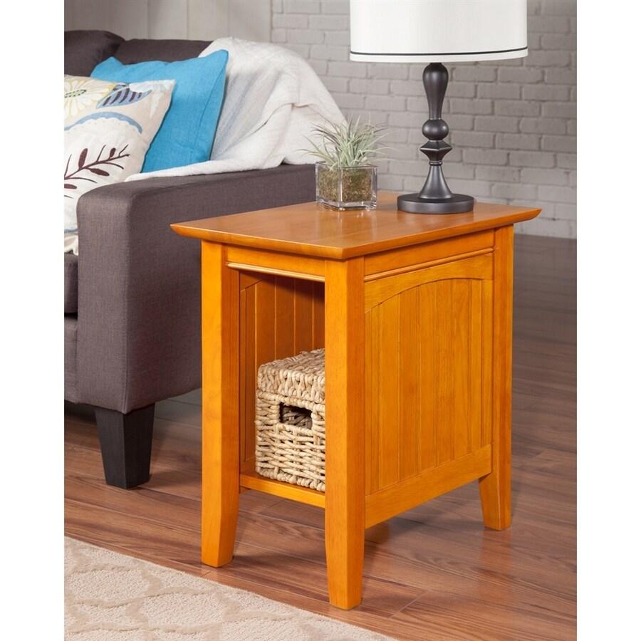 Atlantic Furniture Nantucket Caramel Latte End Table