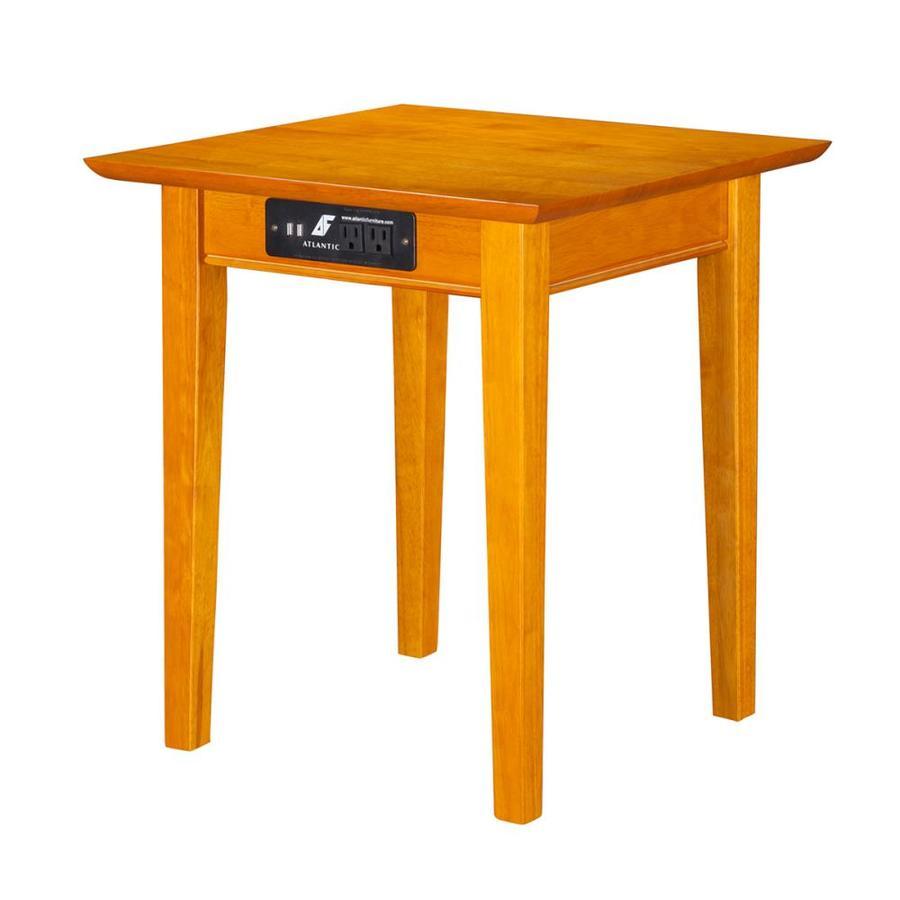 Atlantic Furniture Shaker Caramel Latte End Table