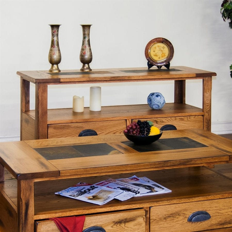 Sunny Designs Sedona Oak Console Table
