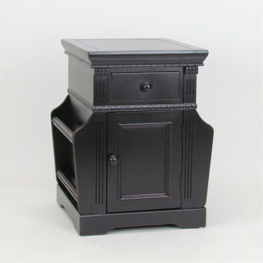 Wayborn Furniture Antique Black End Table
