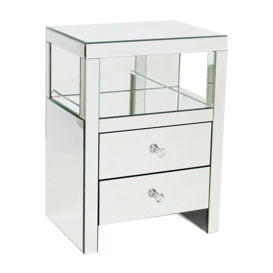 Wayborn Furniture Mirror End Table