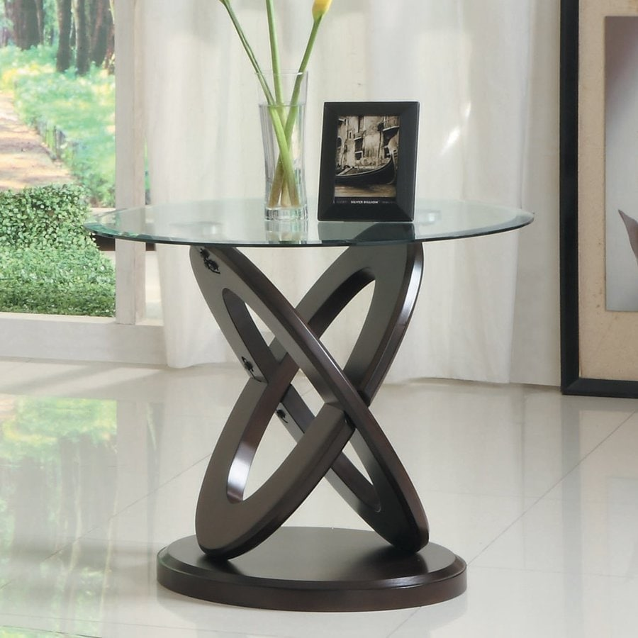 Homelegance Firth II Cherry End Table