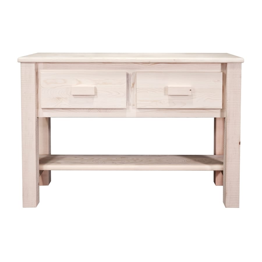 Shop montana woodworks homestead pine console table at lowes montana woodworks homestead pine console table geotapseo Gallery