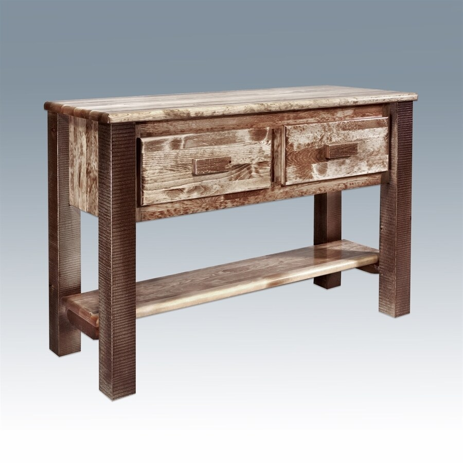 Montana Woodworks Homestead Pine Console Table