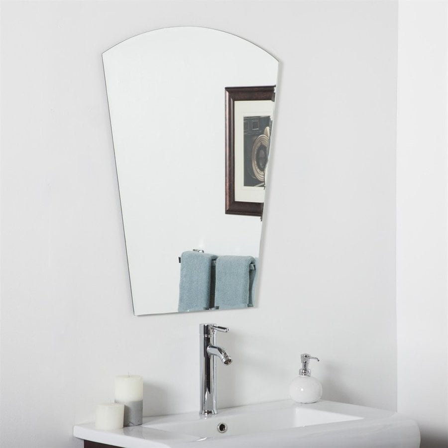 bathroom accessories mirrors shop decor 23 6 in x 31 5 in arch 10195