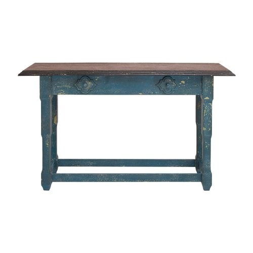 Woodland Imports Brown Fir Console Table At Lowes