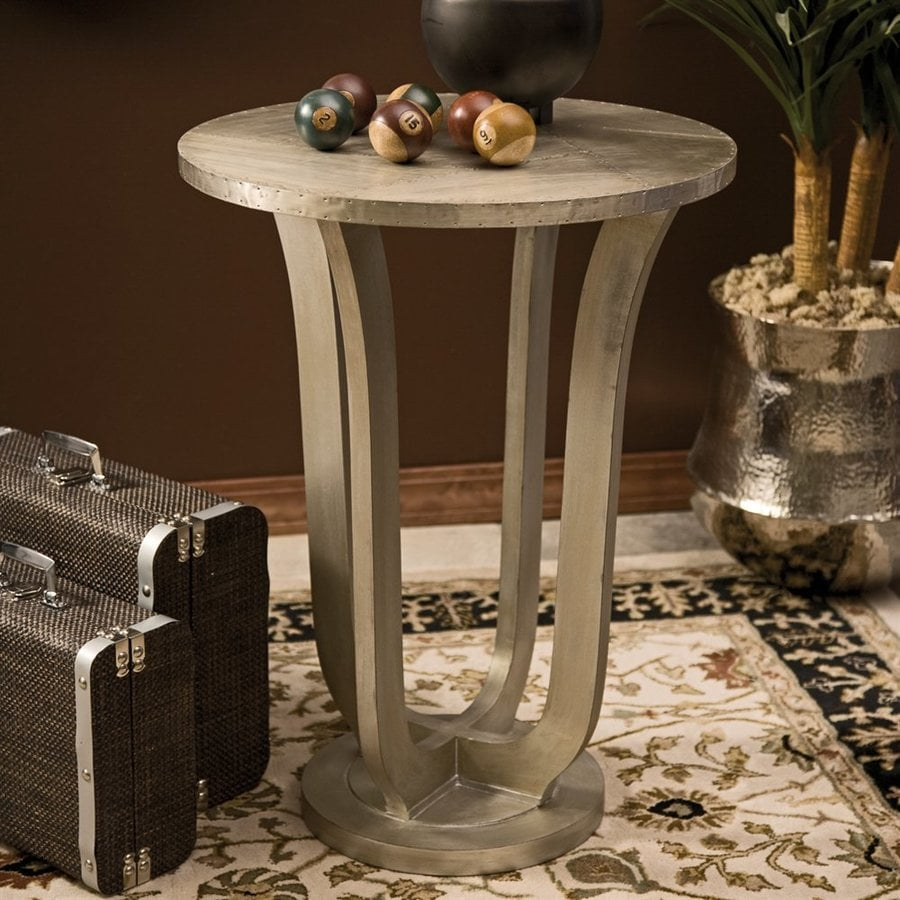 Imax Worldwide Jensen Silver End Table
