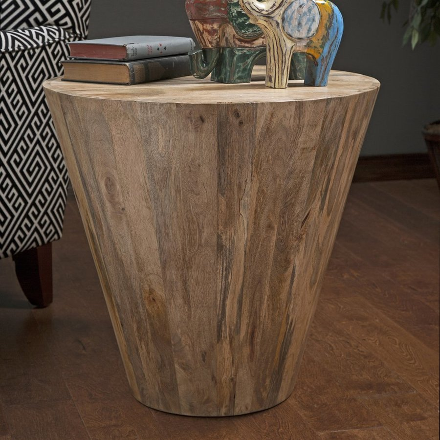 Imax Worldwide Fabiola Brown End Table