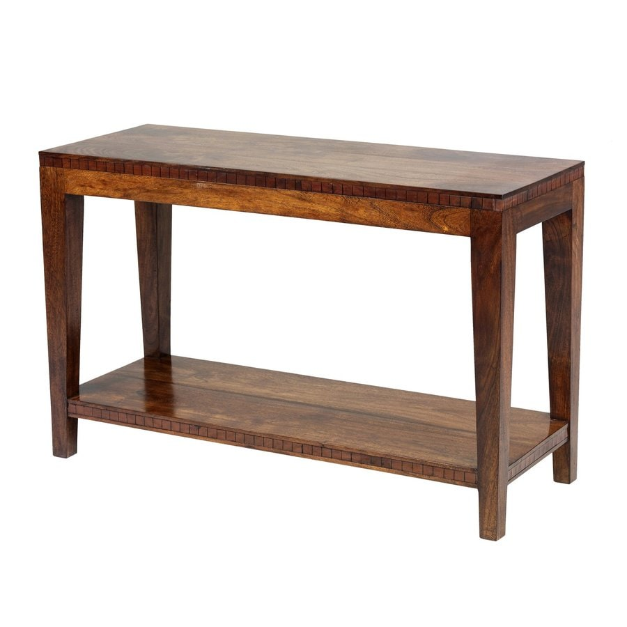 William Sheppee Saddler Acacia Sofa Table