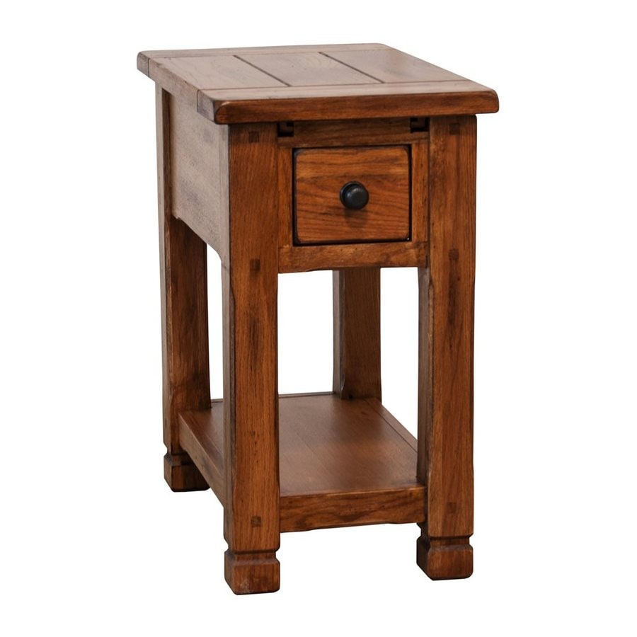 Sunny Designs Sedona Rustic Oak End Table