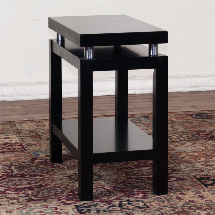 Sunny Designs New York Black Birch End Table