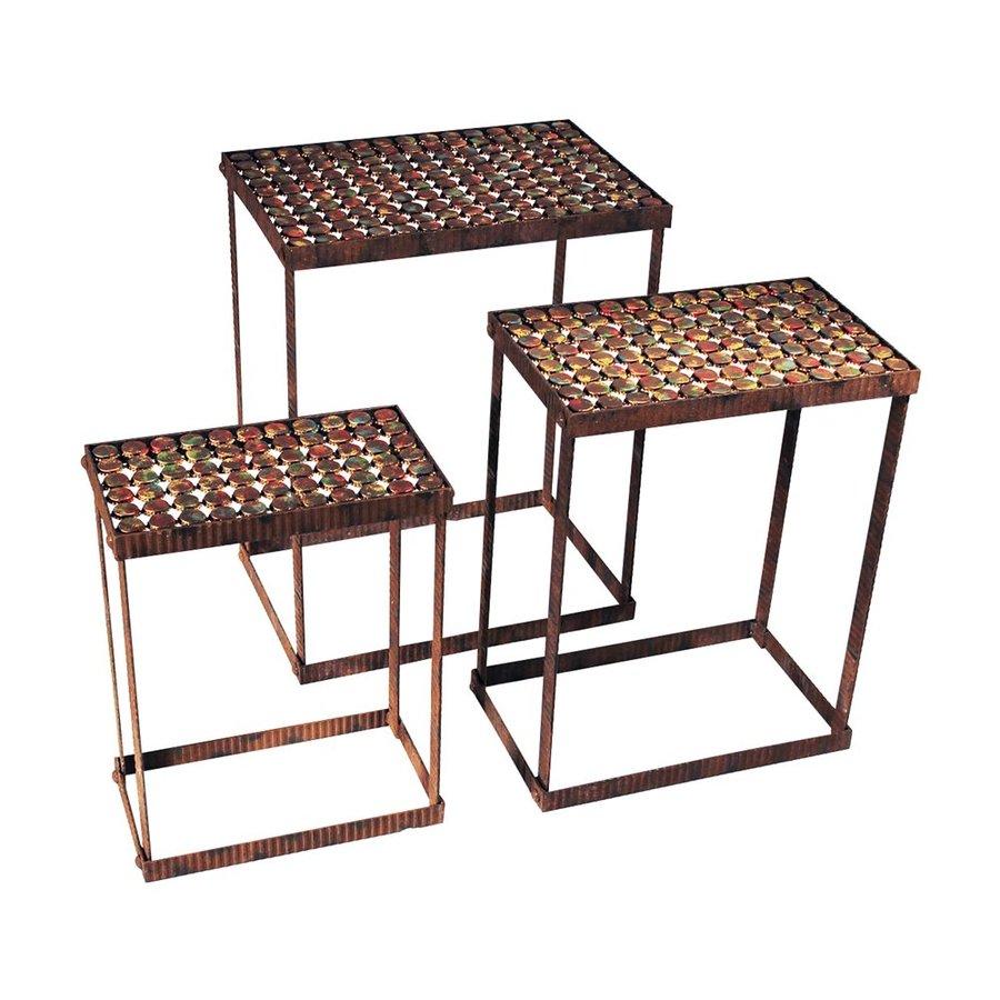 Design Toscano Pop Art 3-Piece Accent Table Set