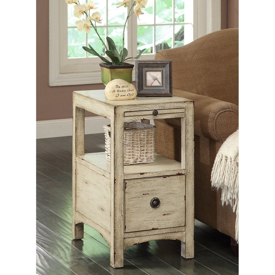 Coast to Coast Sand Rub End Table