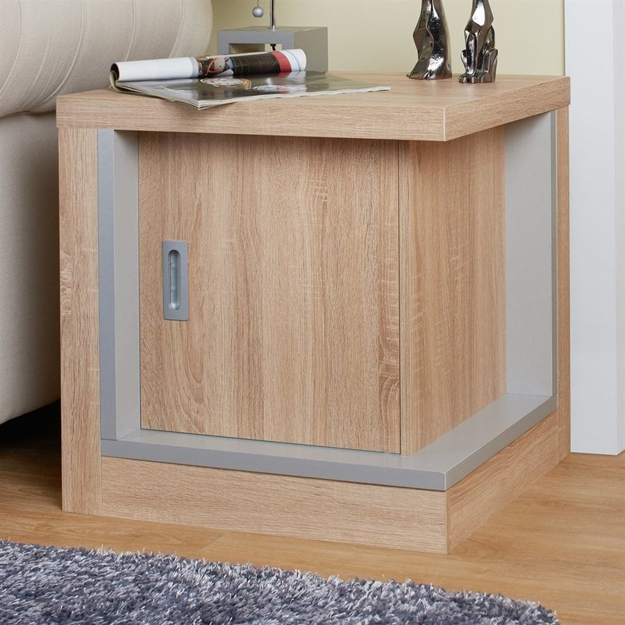 Enitial Lab Ronan Beige End Table
