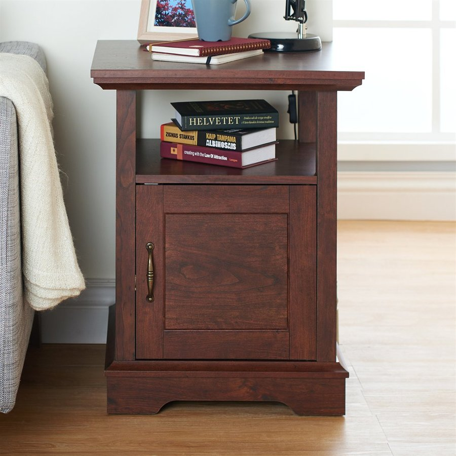 Enitial Lab Madeira Vintage Walnut End Table
