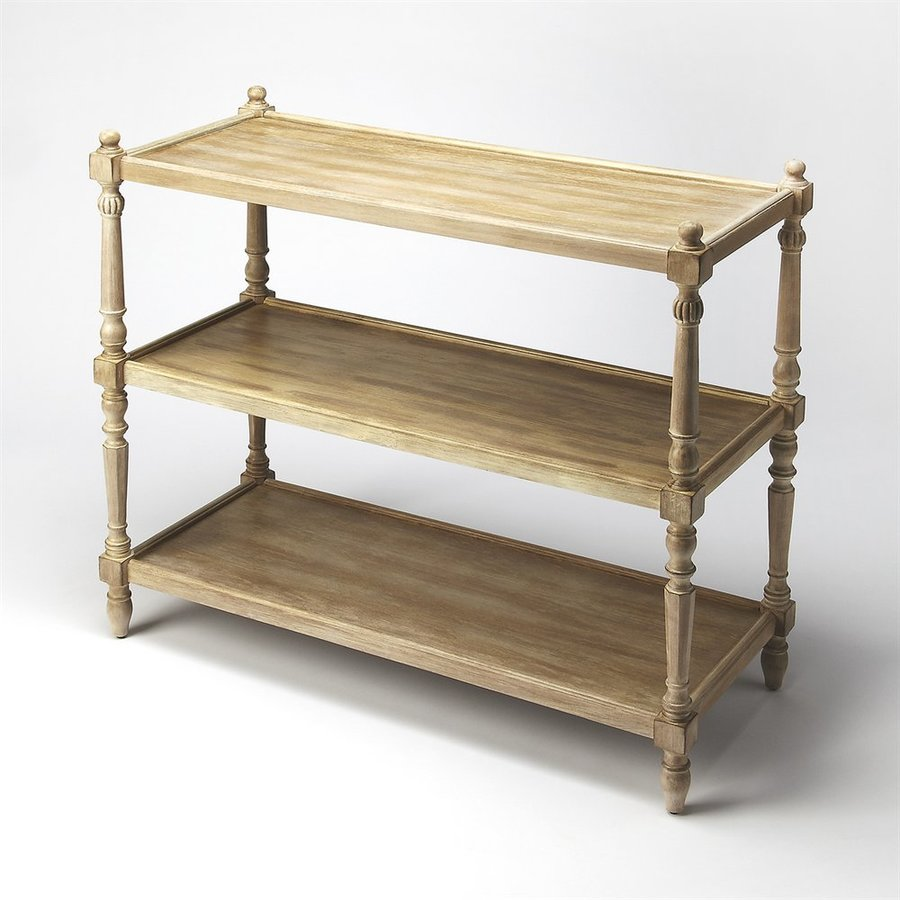 Shop butler specialty masterpiece rothwell driftwood console table butler specialty masterpiece rothwell driftwood console table geotapseo Images