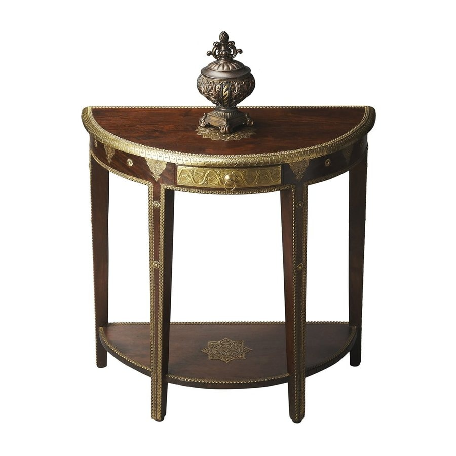 Butler Specialty Artifacts Espresso Console Table