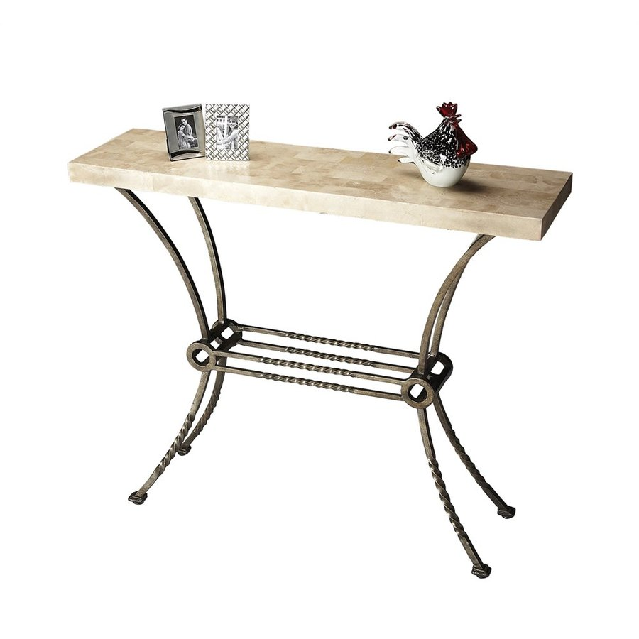 Butler Specialty Metalworks Cream Console Table