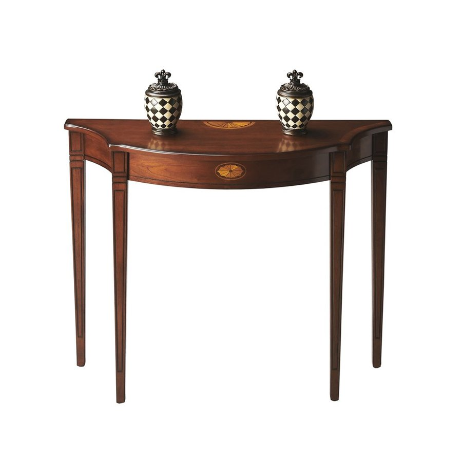 Butler Specialty Masterpiece Olive Ash Burl Console Table