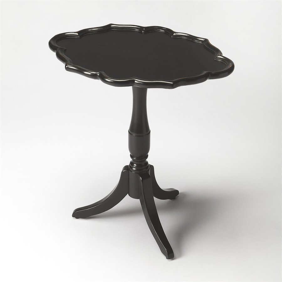 Butler Specialty Masterpiece Black Licorice Rubberwood End Table
