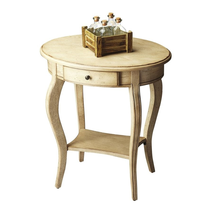 Butler Specialty Masterpiece Paraffin Rubberwood End Table