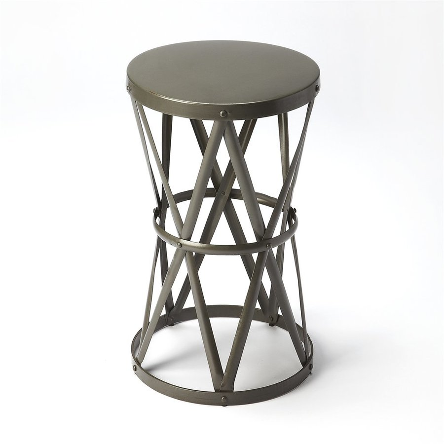 Butler Specialty Industrial Chic Industrial iron End Table