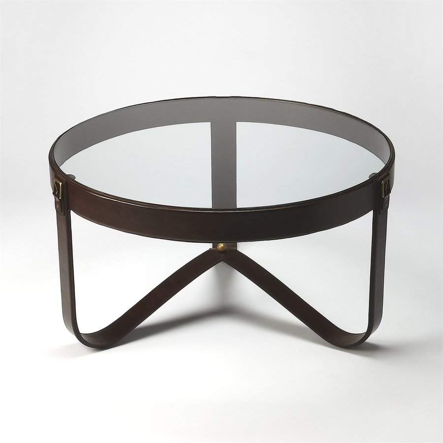 Butler Specialty Alonzo Glass Round Coffee Table