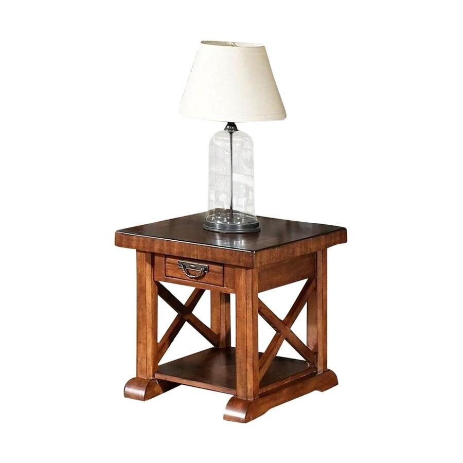 Somerton Home Furnishings Barrington Satin Brown End Table