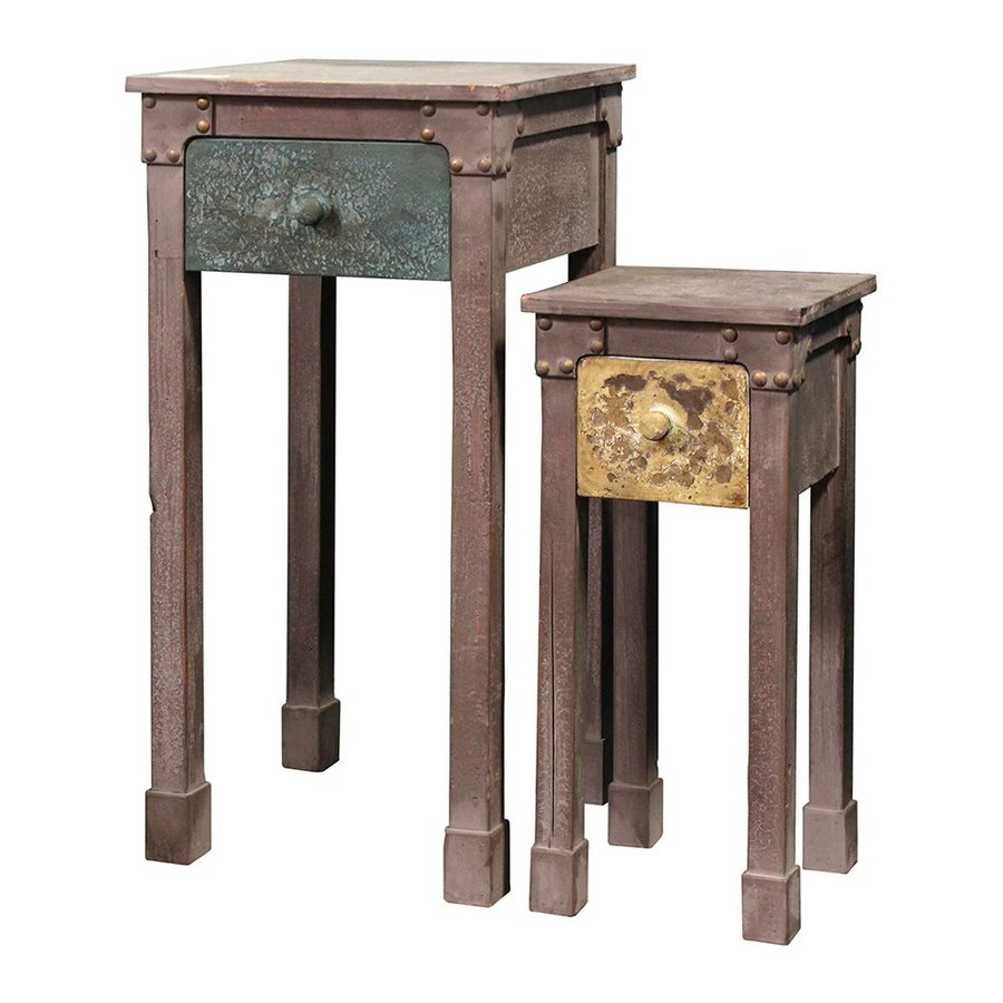 Woodland Imports 2-Piece Accent Table Set