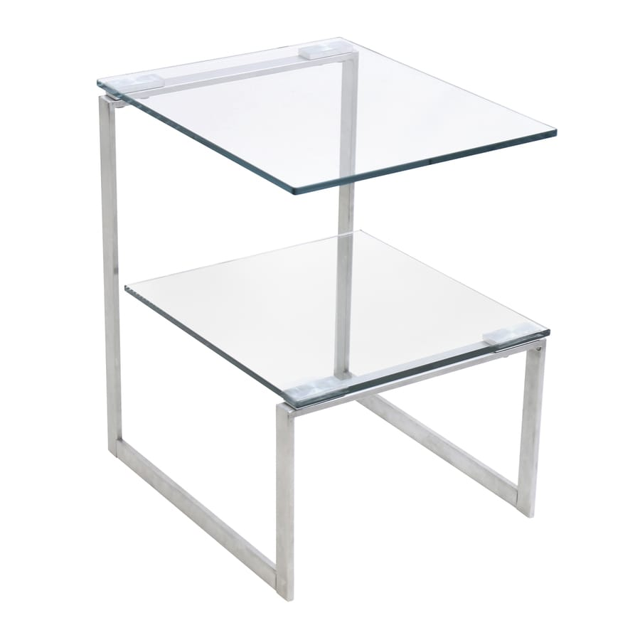 Lumisource Stainless End Table
