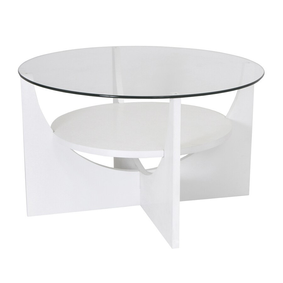 Lumisource Glass Round Coffee Table