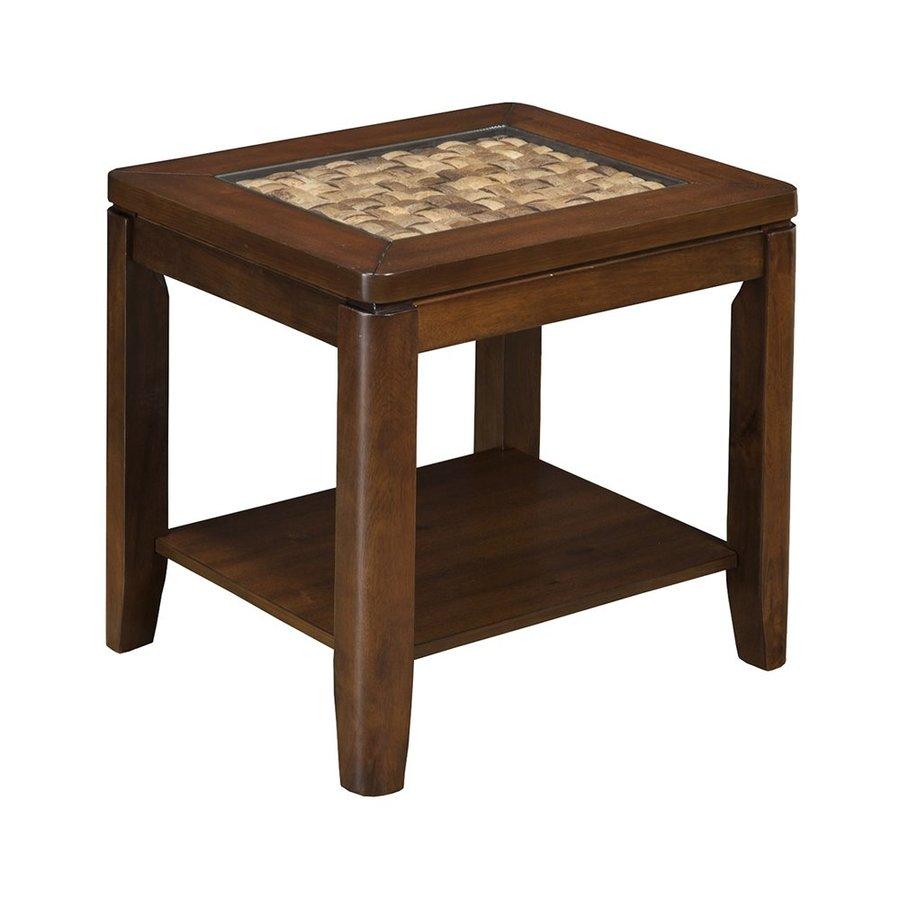 Shop Alpine Furniture Granada Brown Merlot Acacia End