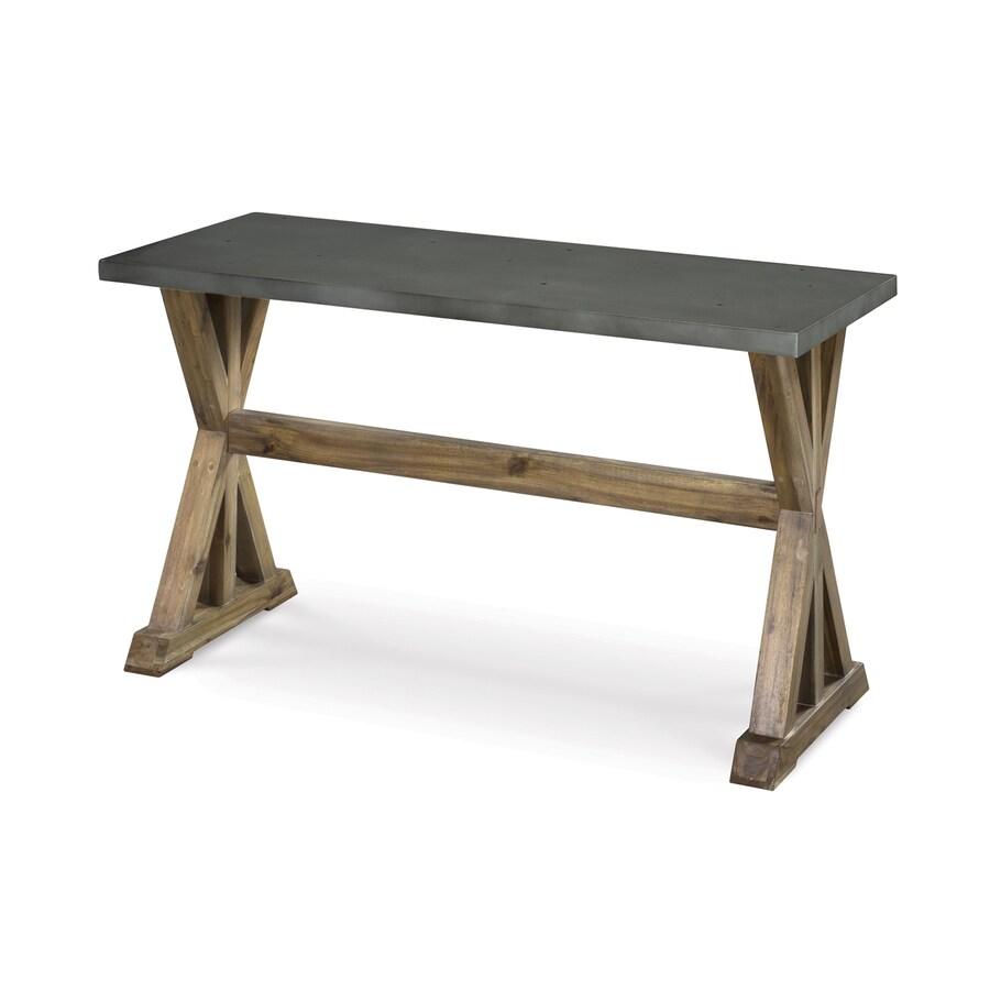 Magnussen Home Lybrook Aged Zinc Sofa Table
