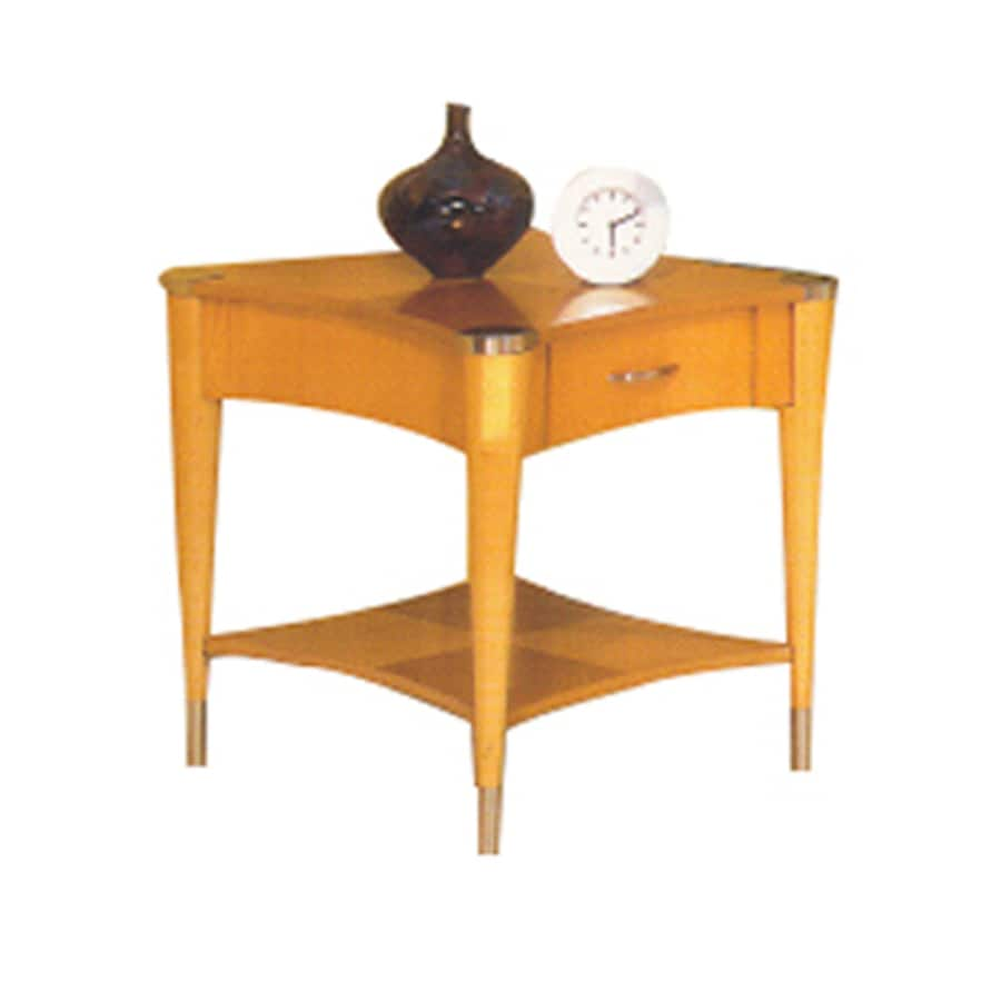 Alpine Furniture Sausalito Natural Birch End Table