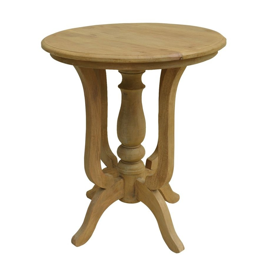 A&B Home Natural Oak End Table