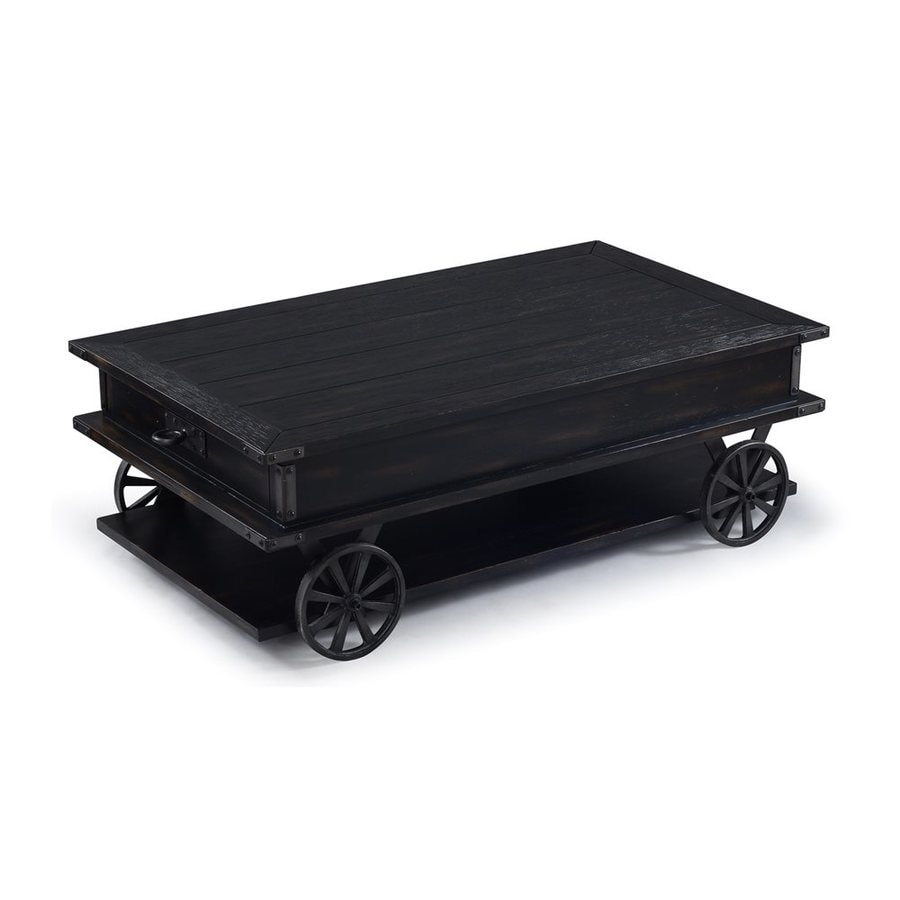 Black Coffee Table Sheffield: Magnussen Home Sheffield Antique Black Coffee Table At