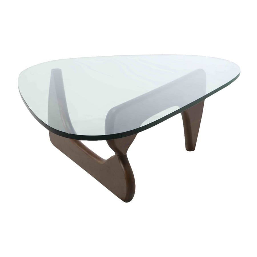 Shop Aeon Furniture Modern Classics Glass Triangle Coffee Table At