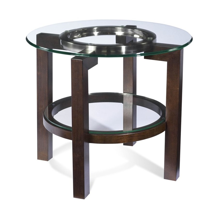 Bassett Mirror Company Oslo Mahogany End Table