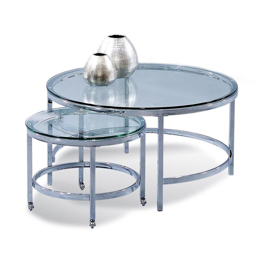 Bassett Mirror Company Patinoire 2-Piece Accent Table Set