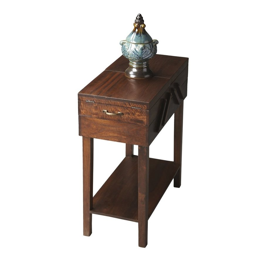Butler Specialty Modern Expressions Brown Acacia End Table