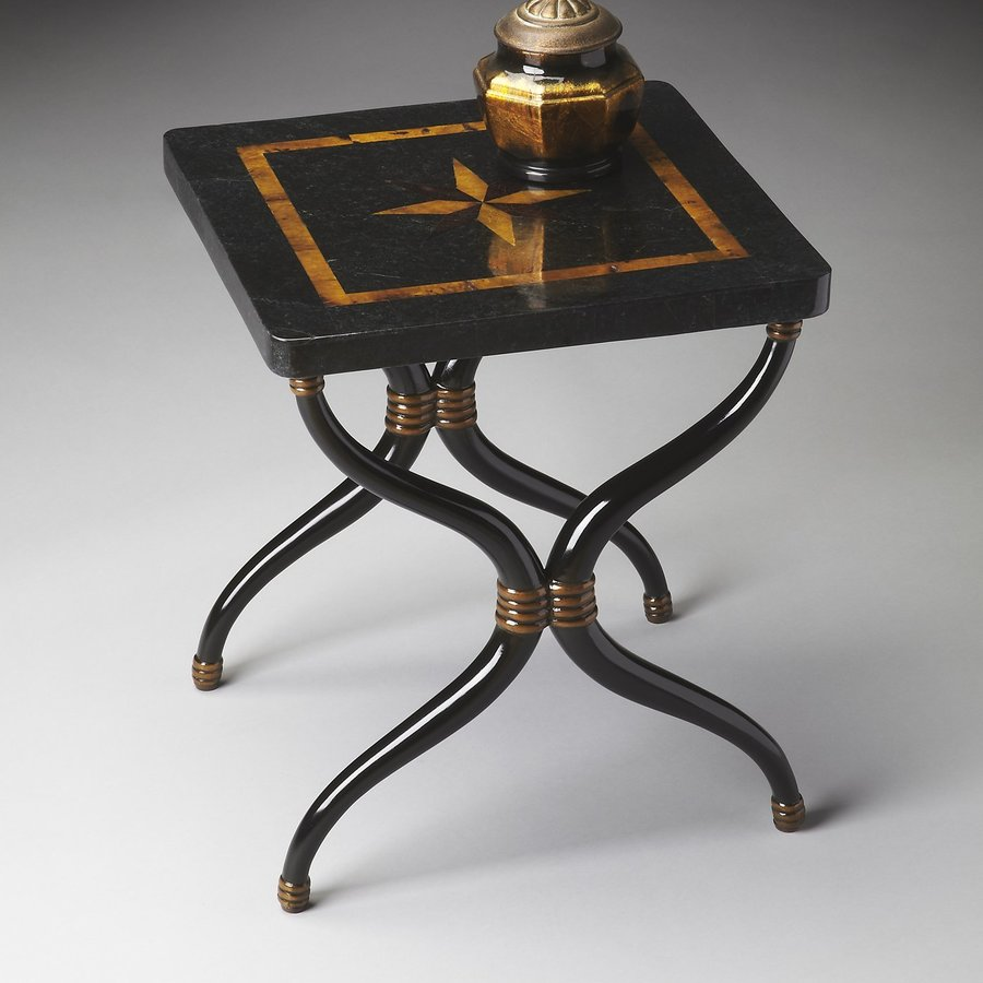 Butler Specialty Heritage Black End Table