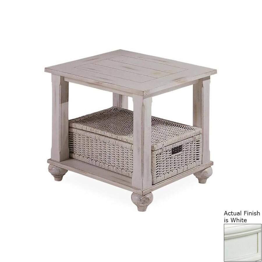 Klaussner Treasures White Pine End Table