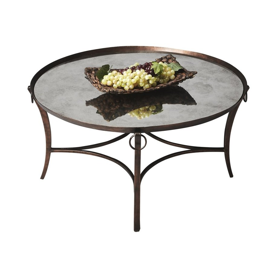 Butler Specialty Mirror Round Coffee Table