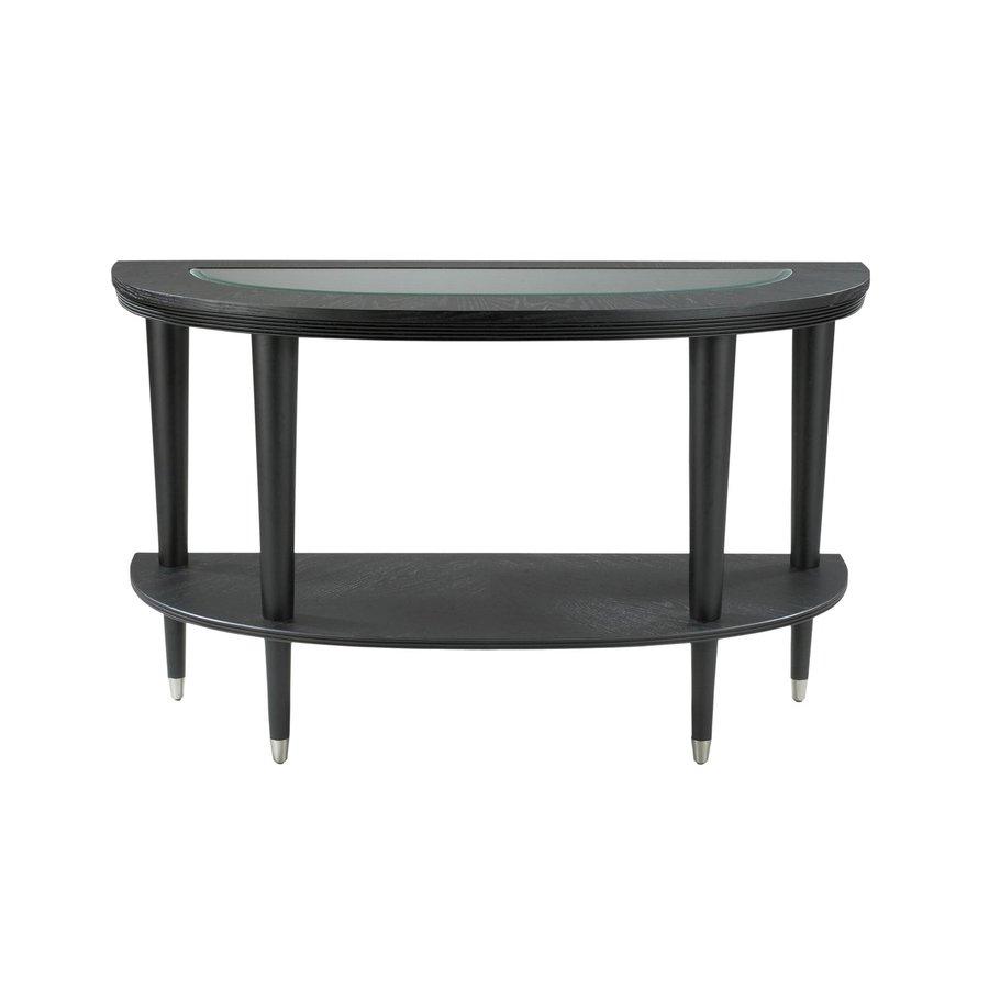 Klaussner Ontario Black Ash Sofa Table