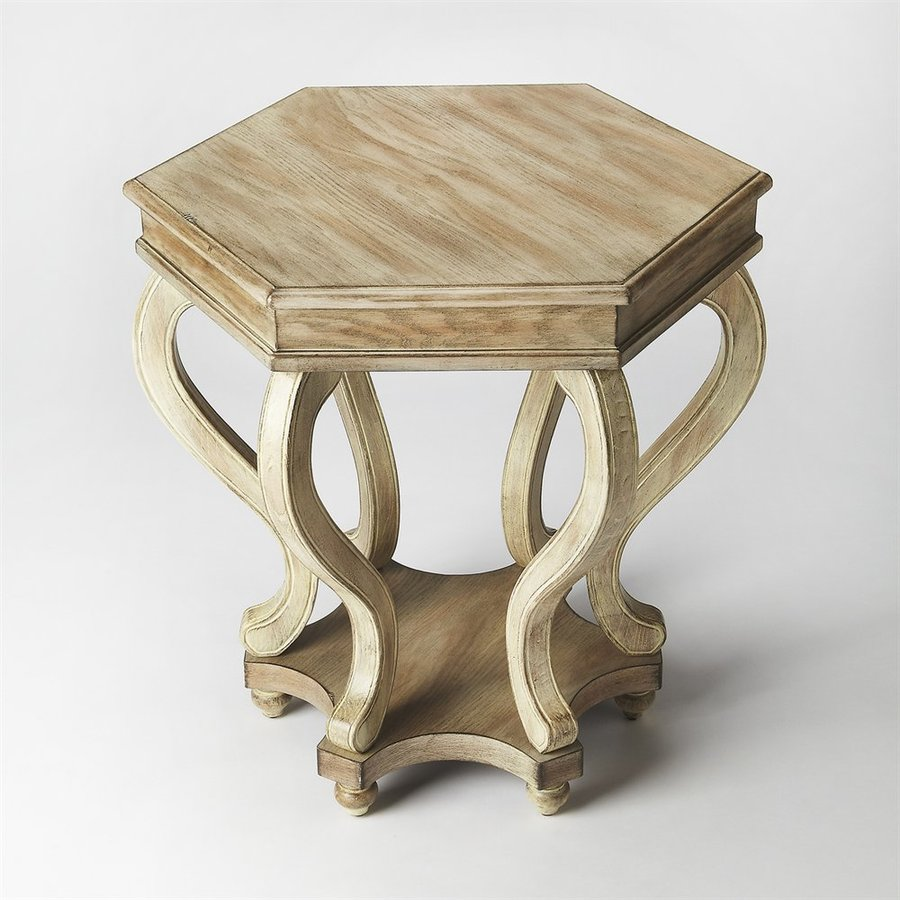 Butler Specialty Masterpiece Driftwood Rubberwood End Table